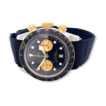 Tudor Black Bay Chrono Acero 41mm Negro Sin cifras