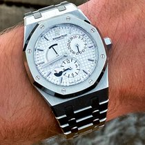 Audemars Piguet Royal Oak Dual Time Steel 39mm White No numerals United States of America, New York, New York