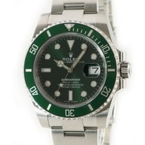 Rolex Automatic Green pre-owned Submariner Date
