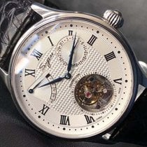 Sugess Tourbillon wristwatch 8001 Новые Сталь 41mm Механические