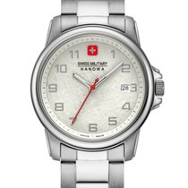 Swiss Military Hanowa Swiss Soldier Prime Acero 39mm Plata