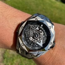Hublot Big Bang Sang Bleu Titanium 45mm Black
