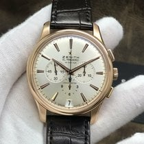 Zenith Or rose Remontage automatique 42mm occasion Captain Chronograph