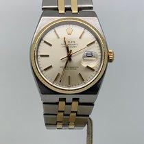 Rolex Datejust Oysterquartz Or/Acier 36mm Argent Sans chiffres France, Paris