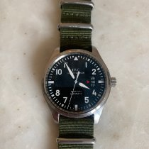 IWC Pilot Mark Steel 41mm Black Arabic numerals United Kingdom, London