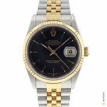 Rolex 16233 Goud/Staal 1994 Datejust 36mm tweedehands Nederland, Maastricht