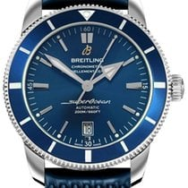 Breitling Superocean Héritage II 42 Сталь 42mm Синий Без цифр