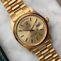 Rolex Day-Date 36 Geelgoud 36mm Goud Geen cijfers Nederland, Heerenveen