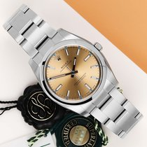 Rolex Oyster Perpetual 34 nuevo 2020 Automático Reloj con estuche y documentos originales 114200
