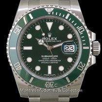 Rolex Submariner Date Acier 40mm Vert France, Paris