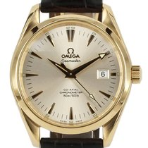 Omega Seamaster Aqua Terra Yellow gold Silver New Zealand, Auckland