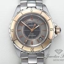 Chanel Or rose Remontage automatique Gris Arabes 38mm occasion J12