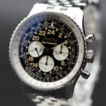 Breitling Navitimer Cosmonaute Steel 41mm Black Arabic numerals United States of America, New Jersey, Long Branch