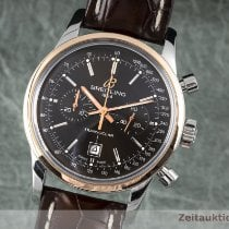 Breitling Transocean Chronograph 38 Gold/Steel 38mm Brown