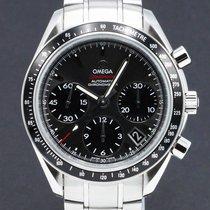 Omega Speedmaster Date Acier 40mm Gris Sans chiffres