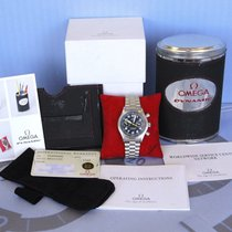 Omega Dynamic Chronograph Acero 38mm Negro Arábigos
