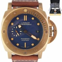 Panerai Bronze Automatic Blue 47mm pre-owned