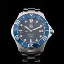 TAG Heuer Aquaracer occasion 41mm Bleu Date Acier