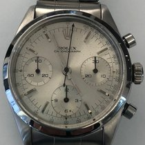Rolex Chronograph Steel 36mm Silver No numerals United States of America, New York, New York