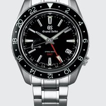 Seiko Steel Automatic Black No numerals 44mm new Grand Seiko