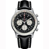 Breitling Navitimer 1 B01 Chronograph 43 new 2021 Automatic Chronograph Watch with original box and original papers AB0121211B1X2