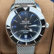 Breitling Superocean Héritage II 46 Acero 46mm Negro Sin cifras