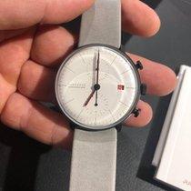 Junghans max bill Chronoscope nowość 2019 Automatyczny Zegarek z oryginalnym pudełkiem i oryginalnymi dokumentami