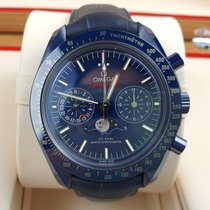 Omega Speedmaster Professional Moonwatch Moonphase Cerámica 44,25mm Azul Sin cifras