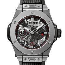 Hublot Big Bang Meca-10 nuevo 2020 Cuerda manual Reloj con estuche y documentos originales 414.NI.1123.RX