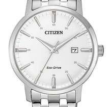Citizen Steel 40mm Quartz BM7460-88H new