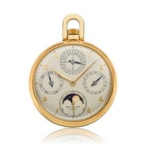 Patek Philippe Perpetual Calendar Yellow gold 46mm Silver Arabic numerals United States of America, Massachusetts, Chatham