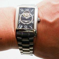 Frederique Constant Classics Carree Steel 30mm Black Roman numerals