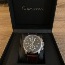 Hamilton Jazzmaster Auto Chrono Acier 42mm Noir France, Paris