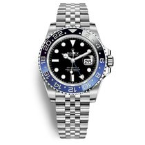 Rolex GMT-Master II Steel 40mm Black No numerals United States of America, New York, Forest Hills