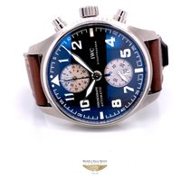 IWC Pilot Spitfire Chronograph Steel 43mm Brown Arabic numerals United States of America, California, Beverly Hills
