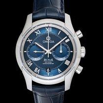 Omega De Ville Co-Axial Steel 42mm Blue United States of America, California, Burlingame