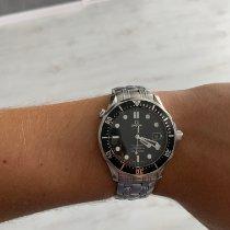 Omega Seamaster Diver 300 M подержанные 41mm Черный Дата Сталь