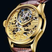 GIV Tourbillon mechanical watch 7016 全新 钢 42mm 手动上弦 中国, 桂林