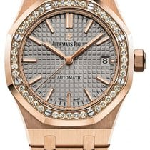 Audemars Piguet Royal Oak Lady Rose gold 37mm Grey No numerals United States of America, New York, New York