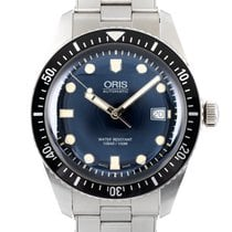 Oris Divers Sixty Five 017337720 4055-0782118 Very good Steel 42mm Automatic
