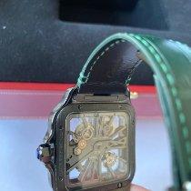 Cartier Титан Автоподзавод Cеребро новые Santos Dumont