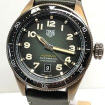 TAG Heuer Bronze Automatik Grün Arabisch 42mm neu Autavia