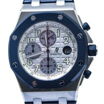 Audemars Piguet Royal Oak Offshore Chronograph Steel 42mm White Arabic numerals Malaysia