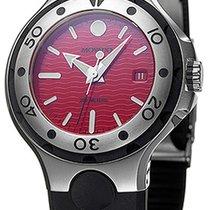 Movado Series 800 Acero 43mm Rojo