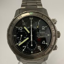 Sinn 203 Titanium 44mm Black Arabic numerals
