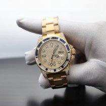 Rolex Желтое золото Автоподзавод Черный 40mm новые GMT-Master II