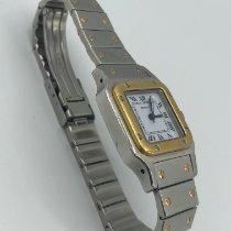 Cartier 1170902 Oro/Acciaio 1990 Santos (submodel) 29mm usato Italia, Brescia