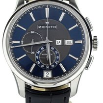 Zenith El Primero Winsor Annual Calendar Steel 42mm Black United States of America, Illinois, BUFFALO GROVE