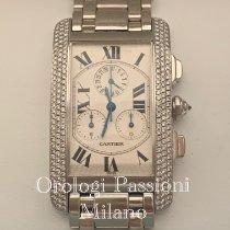 Cartier Oro bianco Quarzo 2339 usato Italia, milano