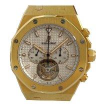 Audemars Piguet Royal Oak Tourbillon Желтое золото 44mm Cеребро
